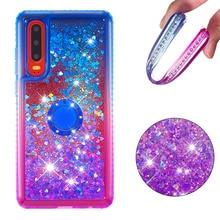 Etui téléphone huawei Honor 10i P30 P30 Lite Pro Y6 Y7 Pro Prime profitez de 9 9s P Smart Cover TPU liquide Quicksand diamant Giltter Coque