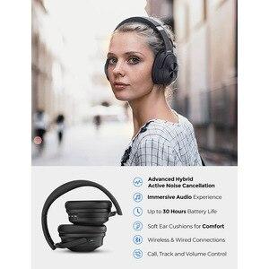 Image 2 - Mpow H12 ANC หูฟังบลูทูธหูฟังไร้สายตัดเสียงรบกวนชุดหูฟัง H Playtimes Deep BASS สำหรับสมาร์ทโฟน