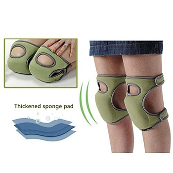 Gardening Knee Pads, Home Knee Pads For Gardening Cleaning, Adjustable Straps Knee Pads For Scrubbing Floors Work Soft Comfort F