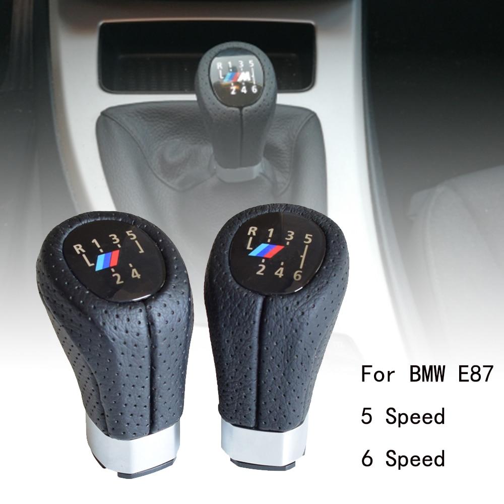 Gear Stick Shift Knob PU 6 Speed Gear Shift Knob Shift Level Stick Head Replacement
