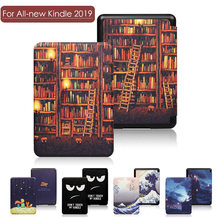 "Magnetische Smart Case Voor Amazon Alle-Nieuwe 2019 Kindle 10th Genetation Release Ultra Slim Leather Folio Cover Voor 6 ""Nieuwe Kindle 10th(China)"