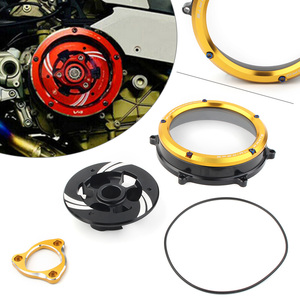 CNC Motorcycle Clutch Cover Protector Guard for Ducati Panigale 1199 1299 959 R S 2012 2013 2014 2015 2016 2017 2018 2019 2020