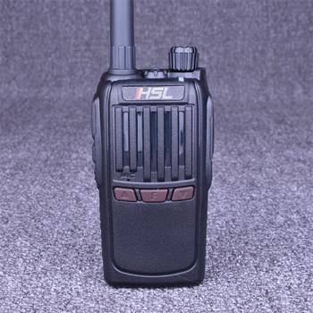 HUOSLOOG HSL-U8 Walkie Talkie 8W Two Way Radio UHF 400-470Mhz Portable CB Radio 16CH Comunicador Transmitter Transceiver hushilong hsl k5 hand held walkie talkie uhf 400 470mhz portable ham two way radio portable intercom amateur interphone
