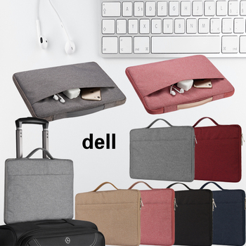 Solid Color Laptop Bag for Dell XPS 11/12/13/14/15/Vostro 5370/Inspiron 13 7390 5391/14/15/G3 15 Notebook Waterproof Zipper Bag original battery cable wire line for dell vostro 5370 v5370 inspiron cn 0hy6hw hy6hw 0hy6hw