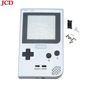 Image 2 - Полностью закрытый чехол JCD DIY, сменный корпус для карманной игровой консоли Gameboy для GBP, чехол с кнопками, объектив класса