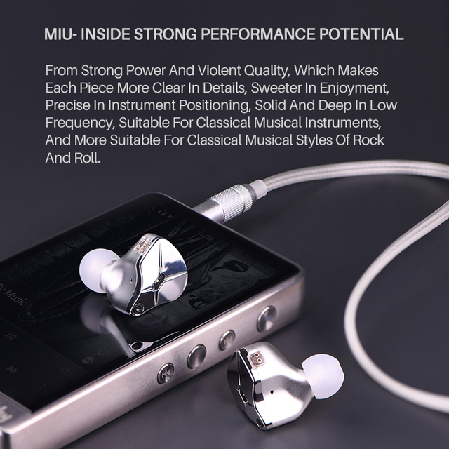 TFZ KING EDITION in Ear Earphones Monitors Earphones Hifi  Metal Noise Cancelling Earbuds Detachable Detach 2PIN Cable 3