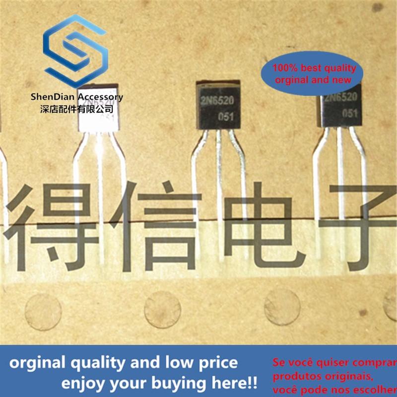 30pcs 100% Orginal New 2N6520 6520 A94 High Voltage Transistors TO-92 Real Photo