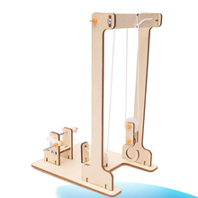 DIY собранная модель крана, научная технология, образовательный эксперимент, детская игрушка для студентов, декор ручной работы