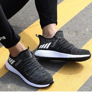 Image 3 - Chaussures de sécurité ultra légères, chaussures de randonnée à bout en acier pour hommes et femmes et travail et soudage