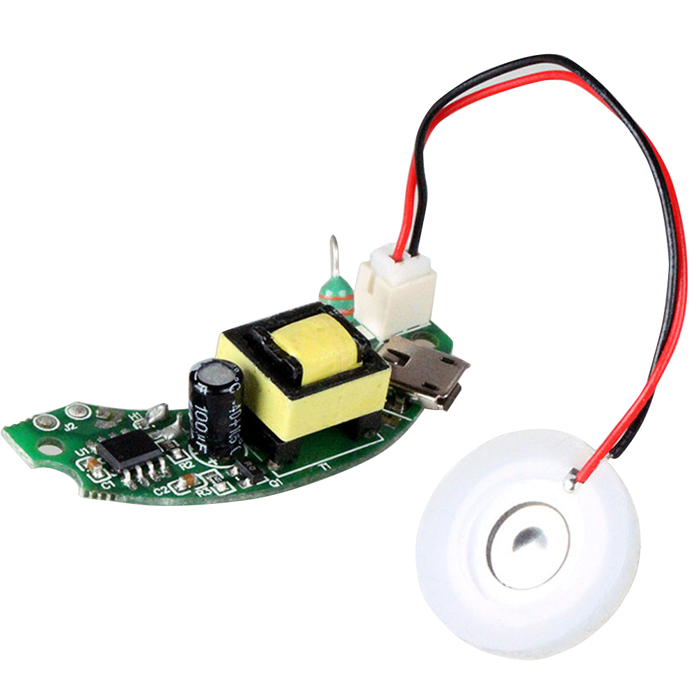 USB Mini Humidifier DIY Kits Mist Maker + Driver Circuit Board Fogger Atomization Film Atomizer Sheet Mini Oscillating Mist Make
