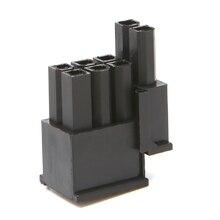 цена на 30 Pcs 4.2mm 6+2 Pin Male Power Connector Plastic Shell For PC Graphics Card PCI-E