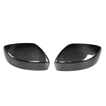 Car Carbon Fiber Side Rearview Mirror Cover Caps Exterior Accessories for Infiniti G25 G35 G37 2008-2013