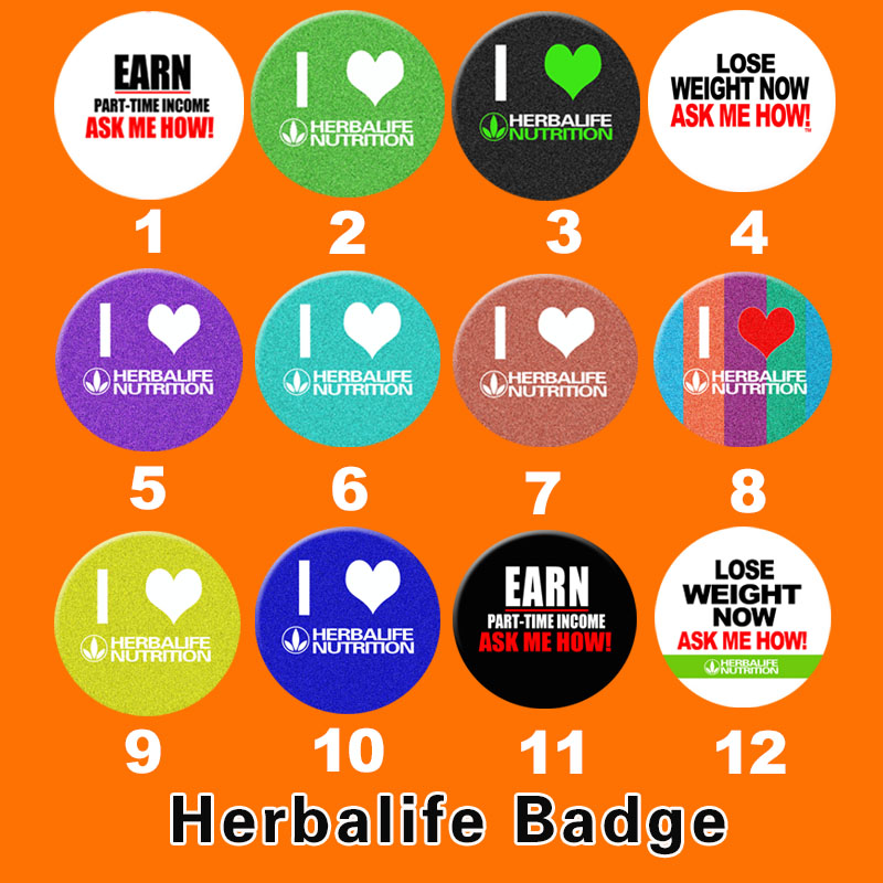 Herbalife badge Hoodie decorative pin women's backpack icon cool accessories