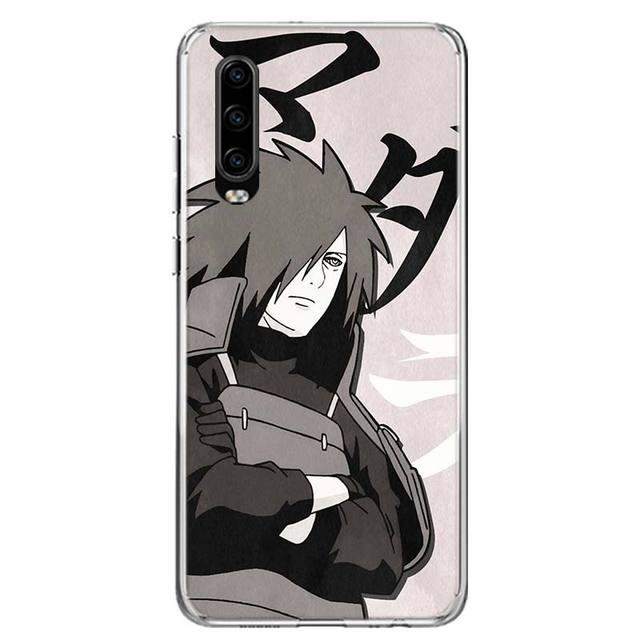 NARUTO Anime Ninja okładka etui na telefony dla Huawei P40 P30 P20 Mate 30 20 10 Pro P10 Lite P Smart Z + 2019 Coque Shell Capa