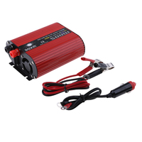Premium US Plug 500W Car Power Inverter LED Indicator 12V To 110V Modified Sine Wave Converters