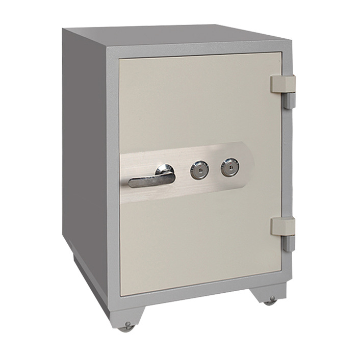 For Home & Office Use Fire Prevention Only Safe Box Office Anti-Theft Safety Box Double Lock Password Simple Gate Hotel Safe-Dep