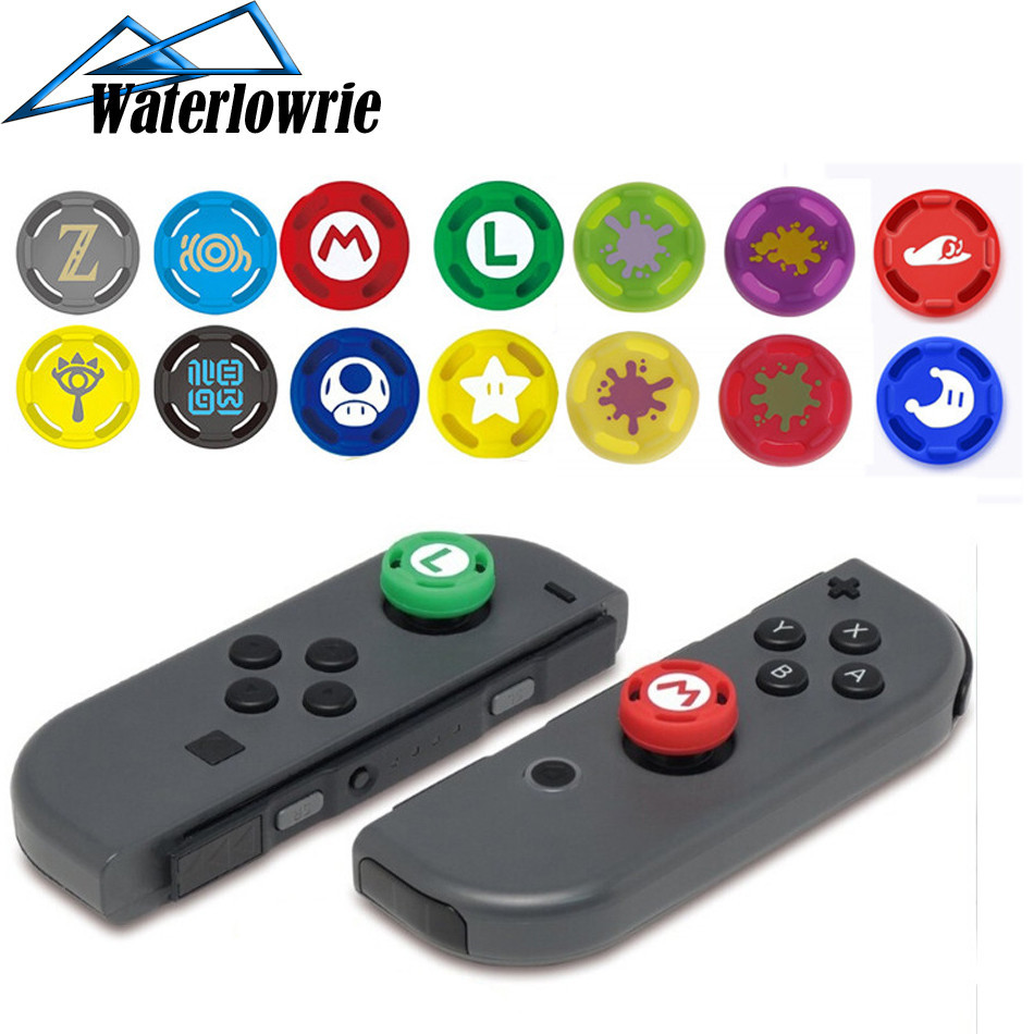 Silicone Gel Thumb Stick Grip Caps Gamepad Analog Joystick Cover Case For Nintend Switch NS Lite Controller Joy-Con ThumbStick