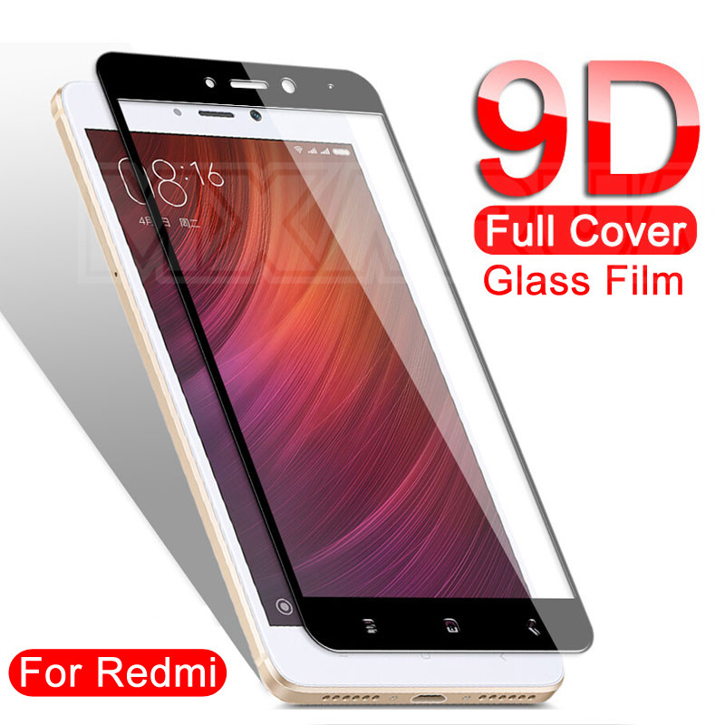 <font><b>9D</b></font> Tempered Glass on the For <font><b>Xiaomi</b></font> <font><b>Redmi</b></font> Note 5 5A 4 <font><b>4X</b></font> Pro Protective Glass <font><b>Redmi</b></font> 5 Plus 5A S2 <font><b>4X</b></font> Screen Protector Film Case image