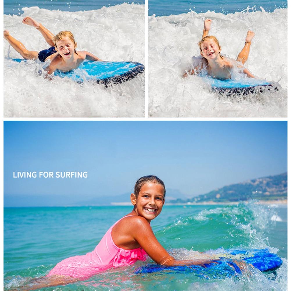 Hc1c3b4654ad8481488d89105649eaed5Z - Outdoor Inflatable Surfboard Solid Color Buoy Kickboard Kids Safe Sea Surfing Board Swim Lightly Kick Board Surfing Bodyboard