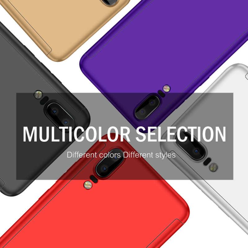 360 Case untuk Huawei P30 Lite P20 Pro P8 P9 P10 PLUS 2017 Case Dengan Anti Gores untuk Huawei P smart 2019 Nova 4 4E 3 3i 3E 2S