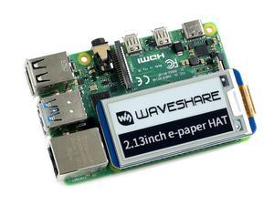 Image 5 - Waveshare chapeau daffichage e ink, 2.13 pouces, pour Raspberry Pi, résolution 250x122, e paper SPI, prend en charge une rafraîchissement partiel Version 2