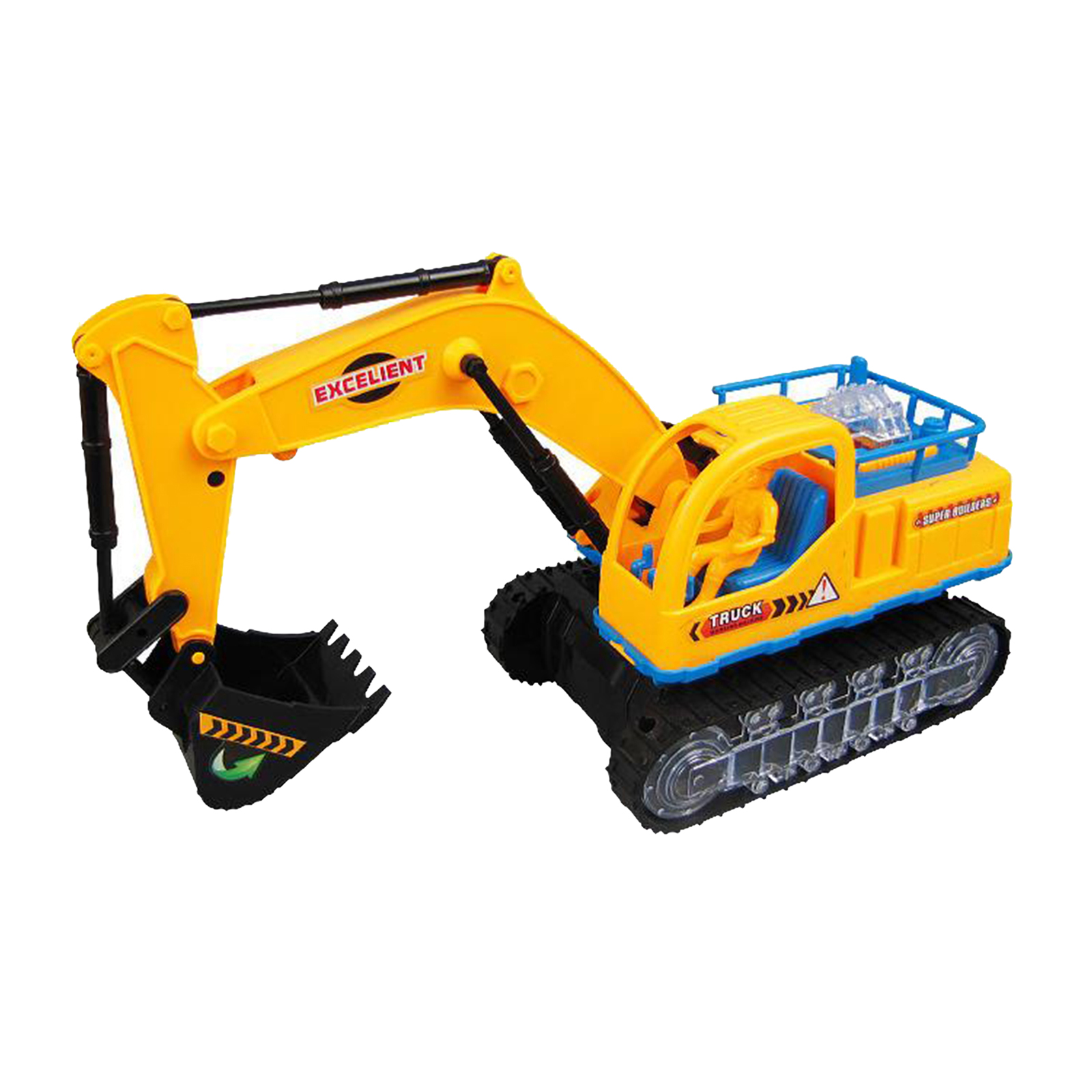 Children Simulation Musical Electric Construction Vehicle Excavator Digging Engineering Flash Car Toy with LED Light & Music
