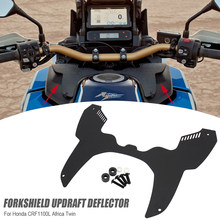 Acessórios da motocicleta para honda crf 1100l crf 1100 l áfrica twin aventura esportes crf1100l forkshield updraft defletor 2020