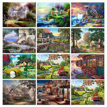 5D DIY Diamond Painting Charming Scenery Embroidery Full Square Rhinestones Home Decor Diamonds Mosaic