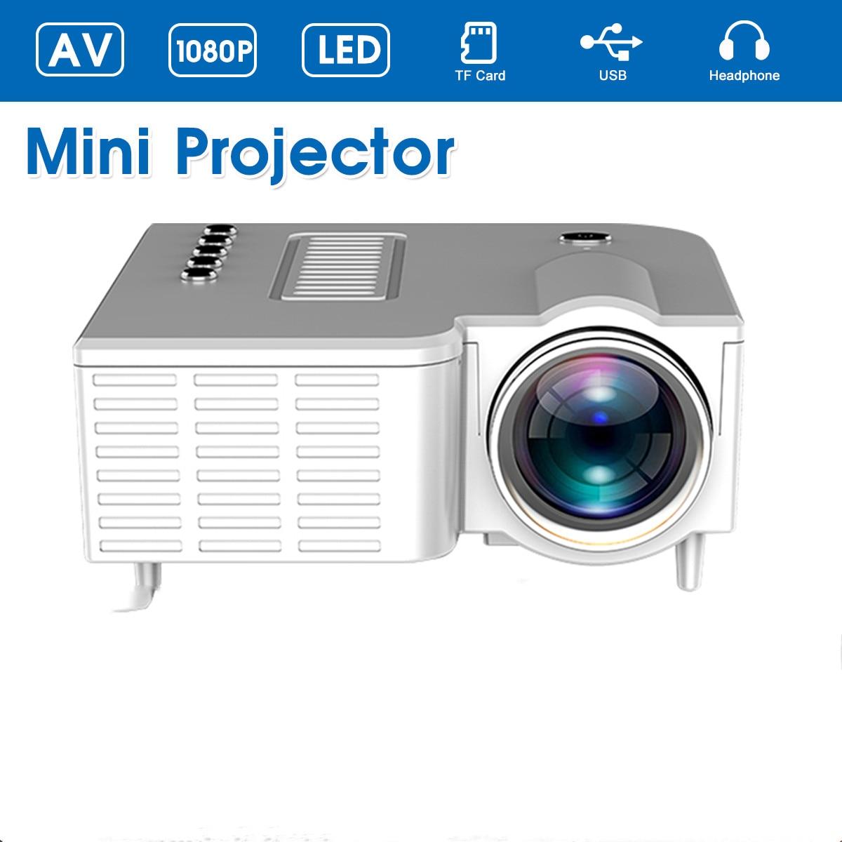 Tragbare LED-Mini-Projektor Video Beamer für Heimkino 500 Lumen Unterstützung HD Display 4k projektor 4K led projektor 1920x1080