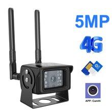 Cámara IP 4G 1080P 5MP HD 3G, cámara con tarjeta Sim, carcasa de Metal, cámara WIFI para exteriores, inalámbrica, MINI CCTV P2P para aplicación de coche CamHi