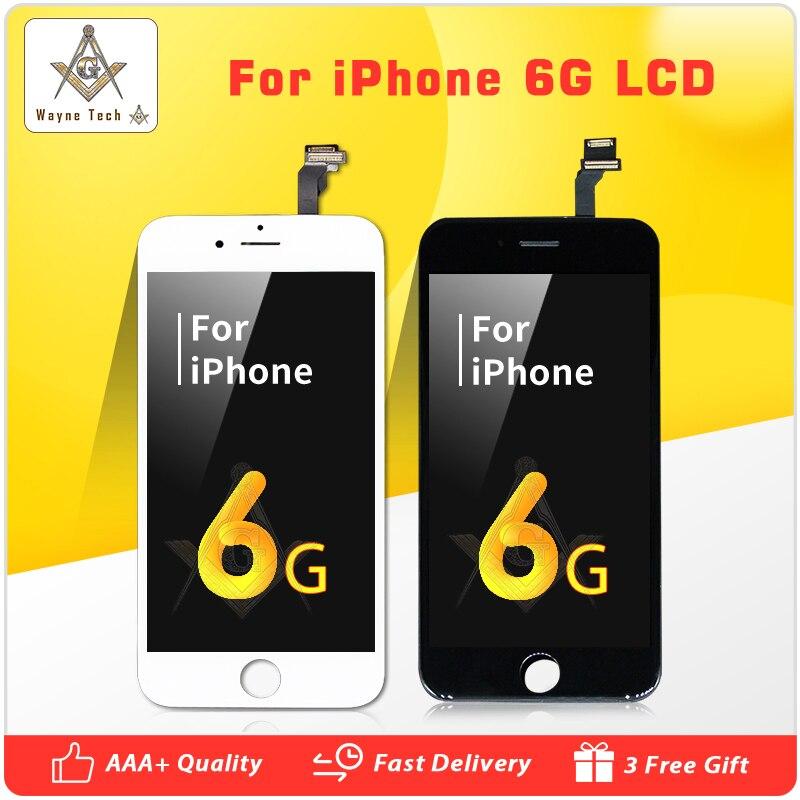 50 stks/partij AAA Kwaliteit Geen Dode Pixel Voor iPhone 6 LCD Compleet Scherm met Touch Screen Digitizer Vergadering Gratis verzending-in LCD's voor mobiele telefoons van Mobiele telefoons & telecommunicatie op AliExpress - 11.11_Dubbel 11Vrijgezellendag 1