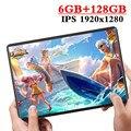 2020 novo design 10.1 polegada tablet android 9.0 8 núcleo 6 gb ram + 128 gb rom câmera dupla 8mp sim tablet pc wifi gps 4g lte telefone