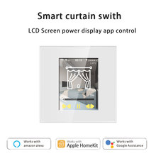 Curtain-Switch Homekit Smar WIFI Alexa Googlehome with Work 220V for In-One LCD 4-Models