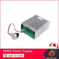 500W fuente de alimentación ajustable 110 V/220 V con Control de velocidad CNC 500W suministro de aire Spndle para 0.5KW herramientas para motor de husillo refrigerado por aire Rotor de herramienta mecánica     -