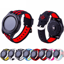 Ремешок силиконовый для Samsung Galaxy watch 3 45 мм Gear S3 Frontier band, браслет для наручных часов Huawei Watch GT 2-2e-pro 46 мм, 22 мм