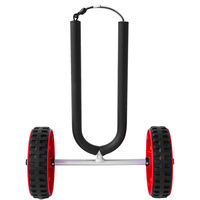 Onefeng Sports Paddle Board SUP Surfboard Cart Dolly Boat Carrier Cart Trolley Float Mat, Jon Boat