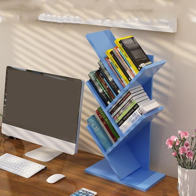 Bookcase Tree Shaped Display Shelf 4
