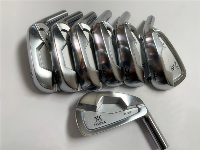 TopRATED MiURA M TC-201 Irons MiURA Golf Forged Iron Set MiURA Golf Clubs 4-9P(7PCS) Steel/Graphite Shaft with Head Cover 1