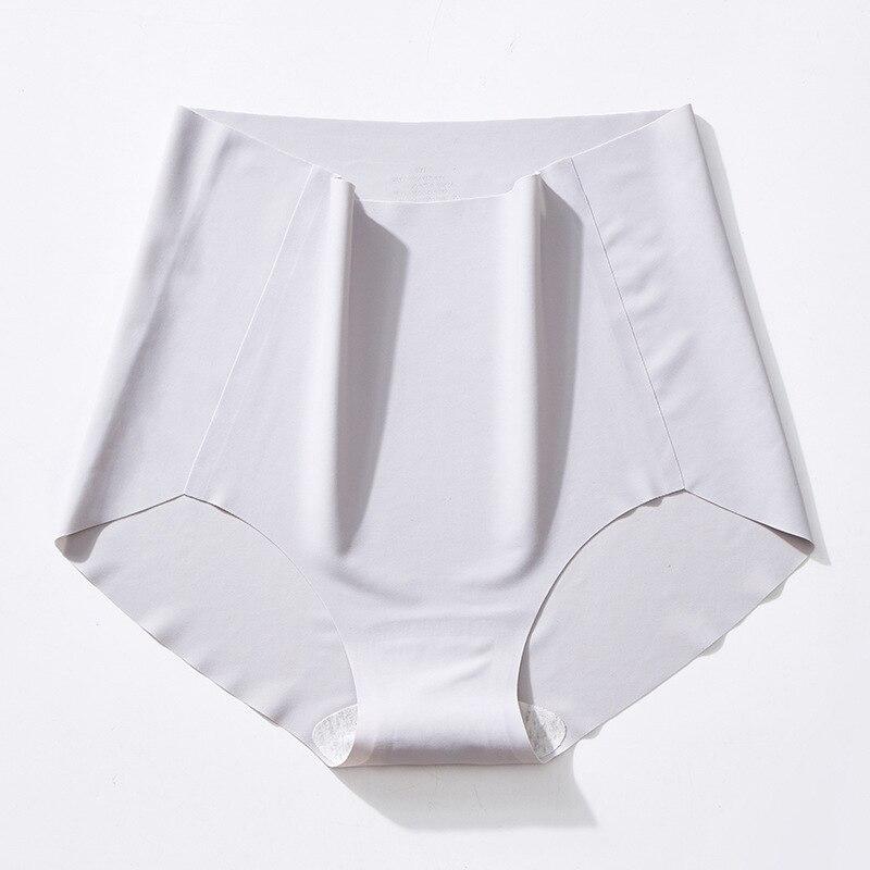 Трусики для живота для женщин размера плюс, нижнее белье, бесшовные шелковые трусики с высокой талией, нижнее белье, дышащие трусы для женщи...