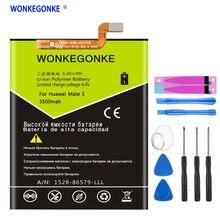 Bateria HB436178EBW WONKEGONKE 3500 mah Bateria para Huawei Companheiro S