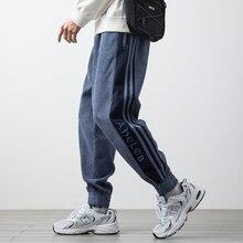 2021 New Spring Autumn Casual Corduroy Sweatpants Men Streetwear Hip Hop Jogger Baggy Pants