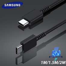 Original Samsung Type C To Type C Typec Cable 5A Fast Charge Galaxy A51 A71 A50 S20 S10 S9 Plus Usbc To Usbc Carregador Cable