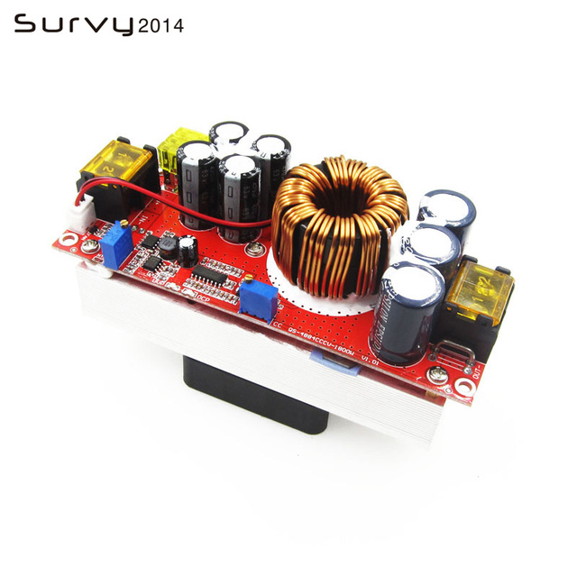 1800W 40A Current DC DC Constant Voltage Constant Current Boost Power Module Converter Board