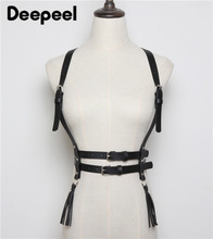 Deepeel 1pc 1.8cm*68-83cm Women PU High Waist Cummerbunds Bandage Corset Belt Goth Punk Style Girdle Leather Accessories YK708
