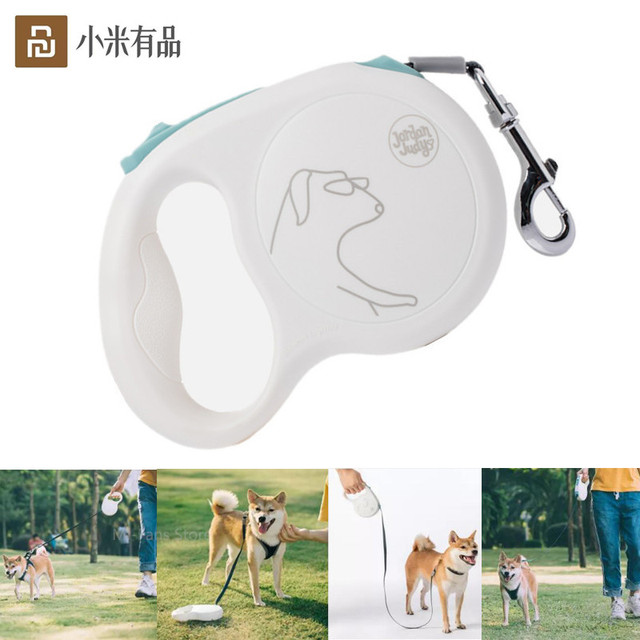Youpin Jordan Judy Pet Retractable Traction Rope Mibai Flexible Safe Locking Automatic Uncoiling 5 Meters Rope Dog 85kg Max