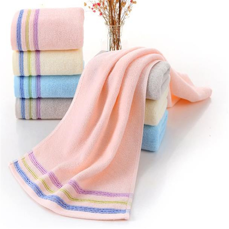 Pure Cotton Jacquard Towel Custom Logo Household Commodities Thickening Dropping Water Washs A Face Cloth 0040A