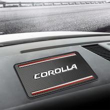 1 шт., противоскользящий автомобильный коврик, держатель для телефона, нескользящий коврик, аксессуары для Toyota Corolla, Стайлинг автомобиля