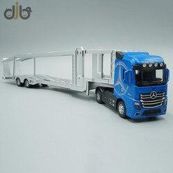 1:50 Diecast ИНЖЕНЕРНЫХ Игрушечная модель грузовика транспорта Vechicle тянуть обратно со звуком & светильник