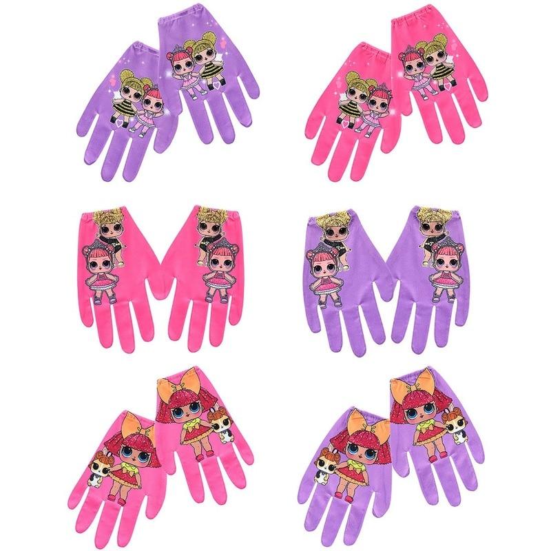 Original LOL Surprise Dolls Anime Cartoon Character Genuine Lols Dolls Surprise Action Toys Girl's Gloves Decoration Supplies