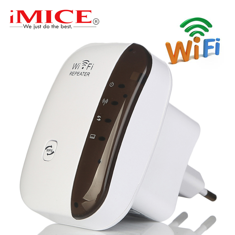 Wifi Repeater Fi-Booster Range-Extender Wps-Access-Point 300-Mbps Wireless 1
